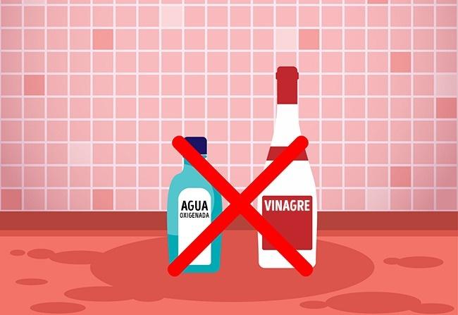 Agua oxigenada con vinagre