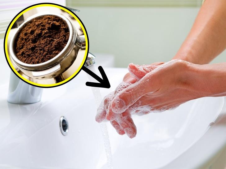 Café para lavar manos
