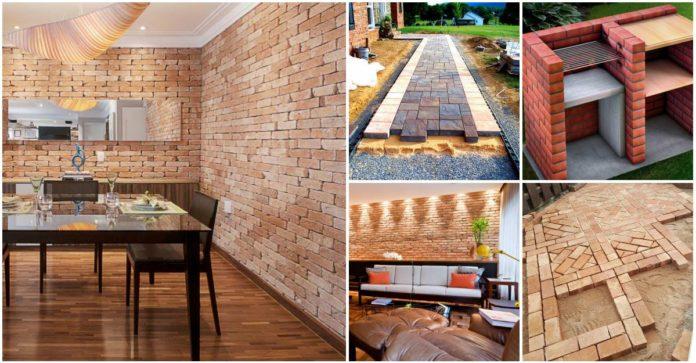 Ideas para decorar tu casa con ladrillos y luzca espectacular