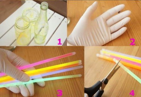 Otros implementos para hacer envases de luces