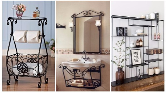13 ideas de muebles de herrer a que har n lucir tu casa for Idea de muebles quedarse