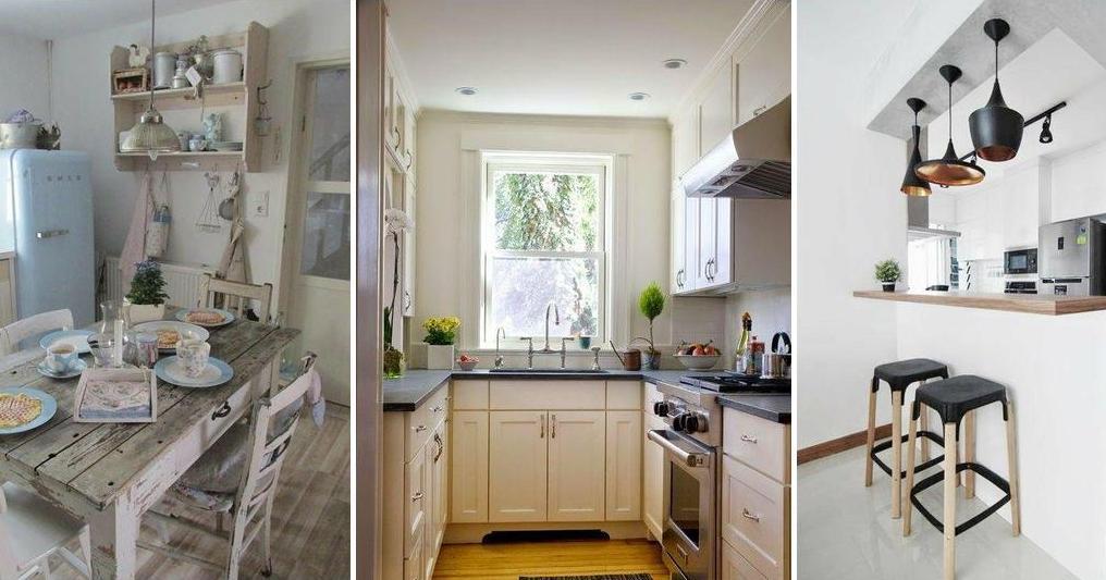 15 cocinas muy bonitas para casas peque as mi libro de ideas - Cocinas bonitas ...