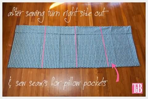 2. Tomar medidas para colchon de almohadas