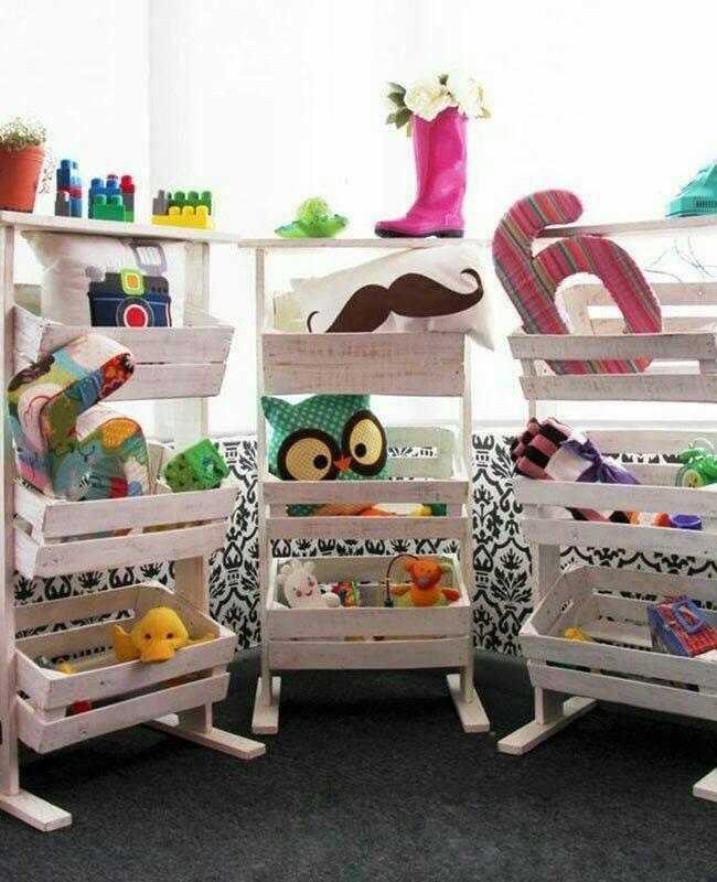 No sabes cómo organizar los juguetes de tus hijos