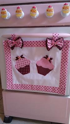 Toalla de cupcake y gallina