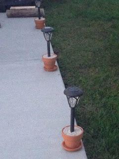 lamparas de jardín artesanales