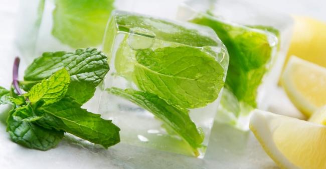 Congela las hierbas y especias