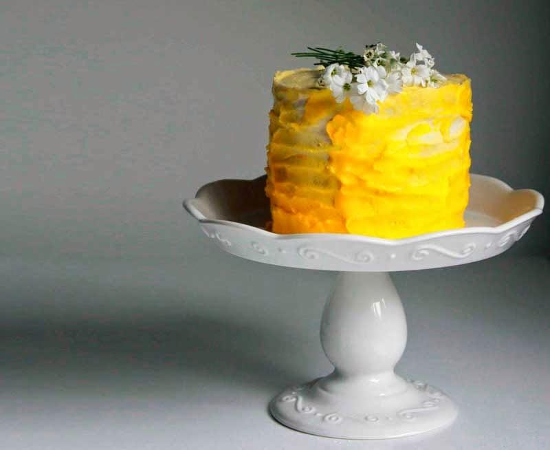 Crema de limón el mejor decorado