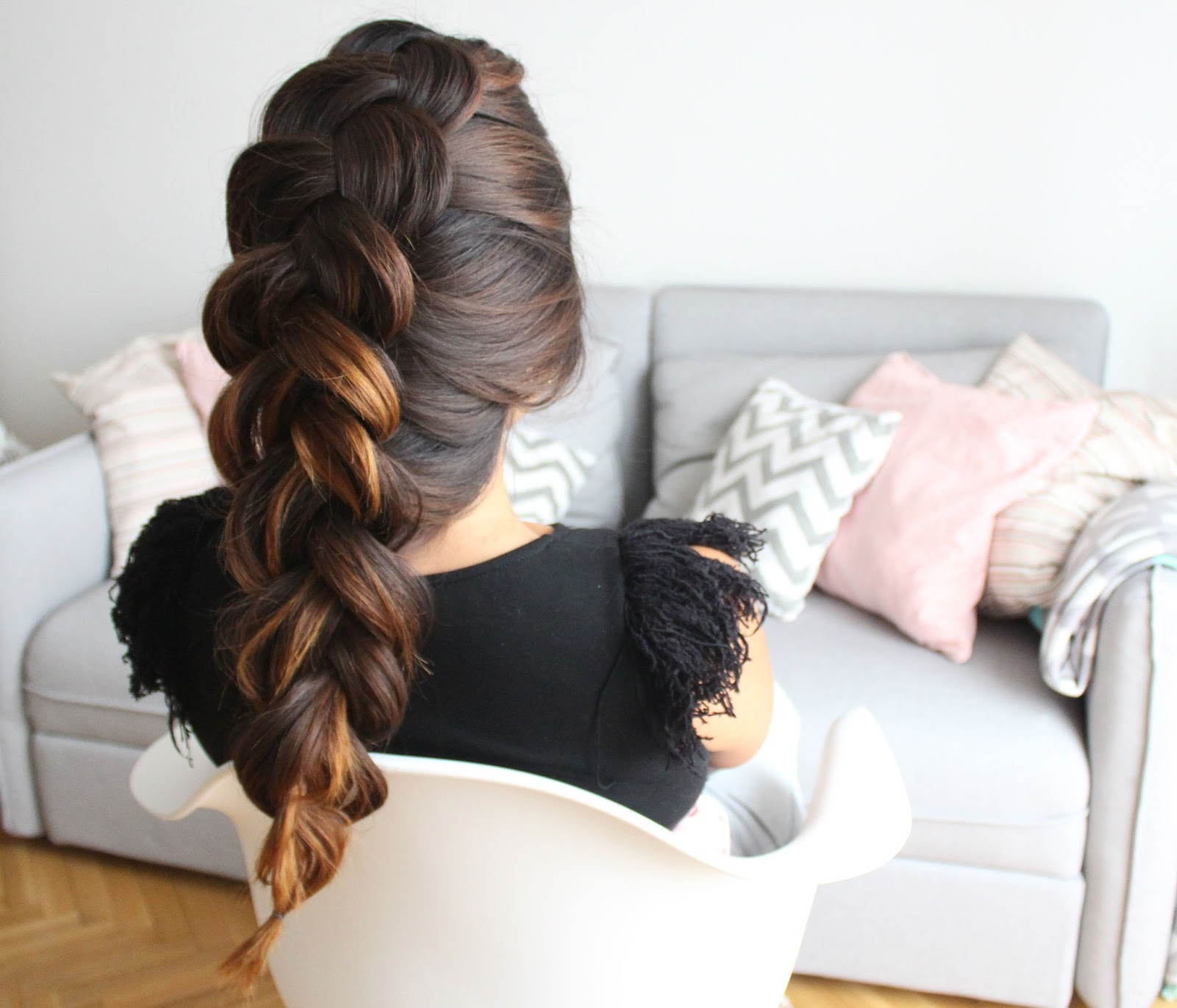 beautiful hairstyles with braids very easy to make