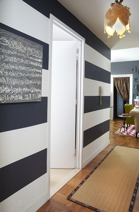 Líneas horizontales en tu casa