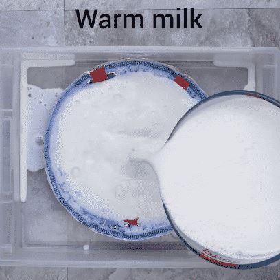 La leche sirve para reparar platos rotos