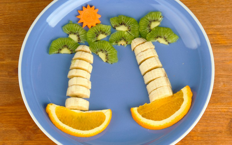 Palmeras de frutas