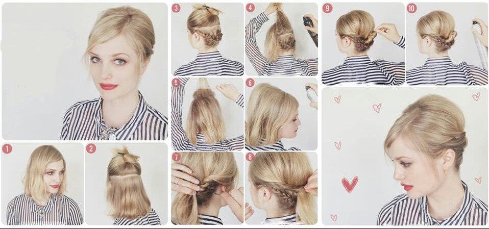 15 Increíbles Peinados Que Las Chicas De Cabello Corto
