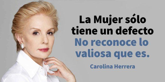 20 Frases De Carolina Herrera Que Toda Mujer Debe Leer Para
